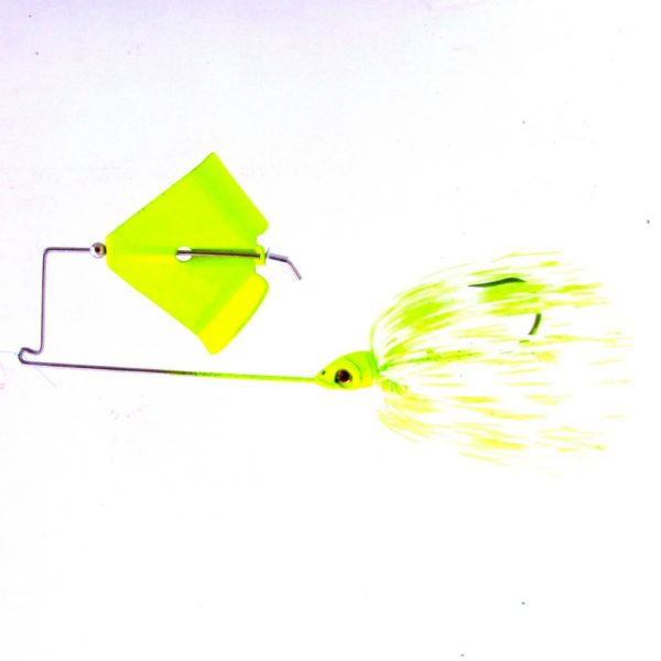 chartreuse white buzzbait